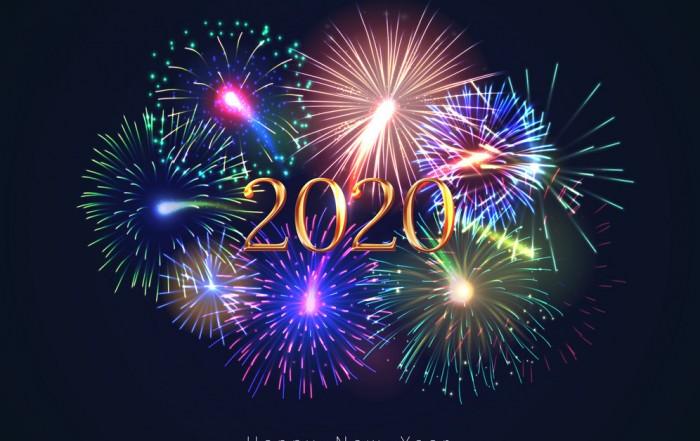 Textografo Happy New Year 2020